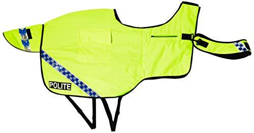 Equisafety Waterproof Hi-Vis Quilted Wraparound rug, Accessori Equestri Unisex-Adulto, Polite-Tappeto Trapuntato Impermeabile ad Alta visibilità, XXS