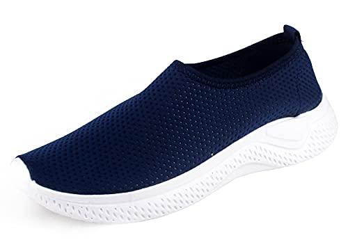 Zapatillas Deportivas de Tela Transpirables para Verano, Tenis con Soporte para el Talón Anti resbalante (Azul, Numeric_40)