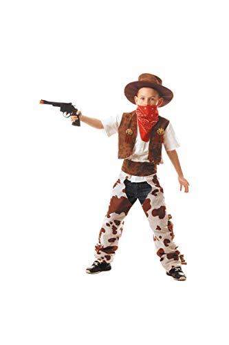 Party Pro 8728875246 Costume de cowboy Multicolore