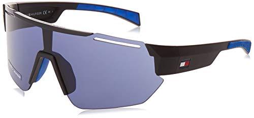 Tommy Hilfiger TH 1721/S gafas de sol, MTBLKBLUE, 99 para Hombre