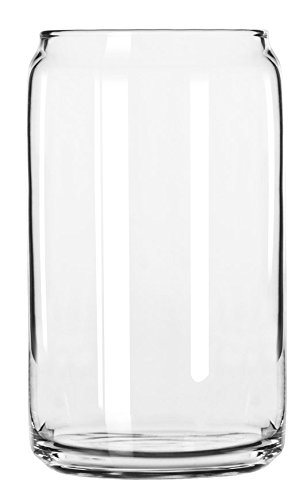 Libbey Glass Can (Set of 24), Clear