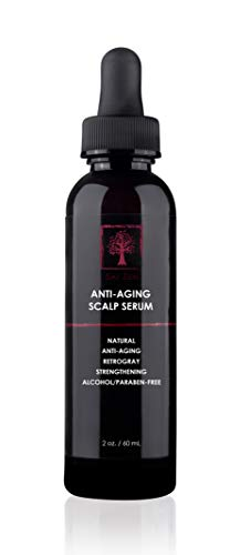 Sai Zen Anti-Aging Scalp Serum   Prevents Hair Loss, Rehydrates Dry Scalp & Improves Appearance of Grey Hair   Made in USA, 2 oz.