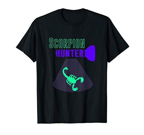 Scorpion Hunting, Black Light Scorpion Hunter T-Shirt