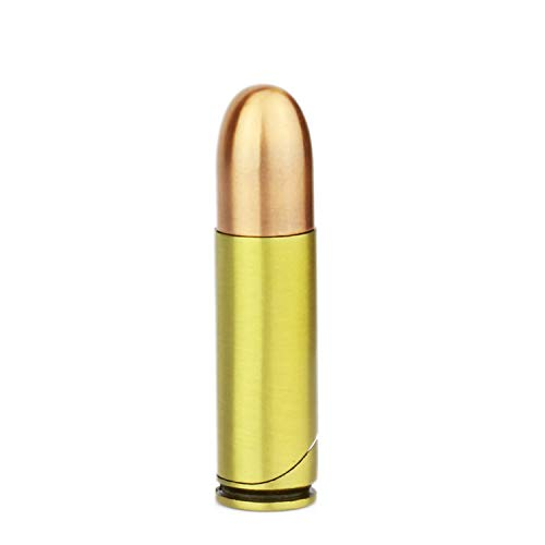 Sturmfeuerzeug Patrone 9mm | Taktical Sourvival Tool | Revolver Soft Gas Feuerzeug | Grün