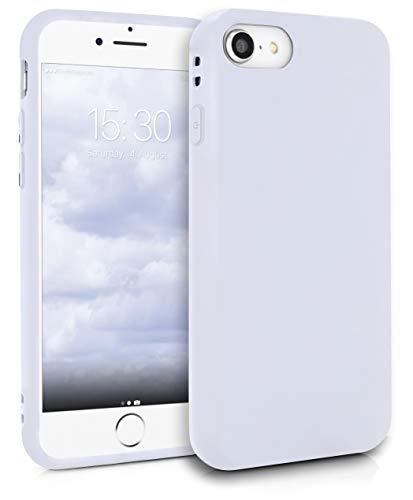 MyGadget Funda Slim para Apple iPhone 7/8 / SE 2020 en Silicona TPU - Resistente Carcasa Antichoque Flexible & Protectora - Friendly Pocket Case - Blanca