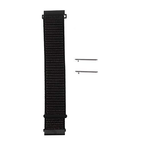 Baluue Compatible para Samsung Galaxy Watch Active 1/2 22Mm Correa de Reloj- Correa de Reloj de Nailon Reemplazo de Liberación Rápida Correas Deportivas Compatible con Galaxy Watch