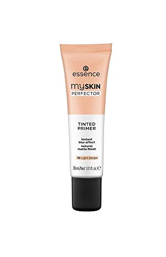 Essence my Skin Perfector Tinted Primer instant blur effect natural matte finish Nr. 10 Light Beige Inhalt: 30ml Grundierung