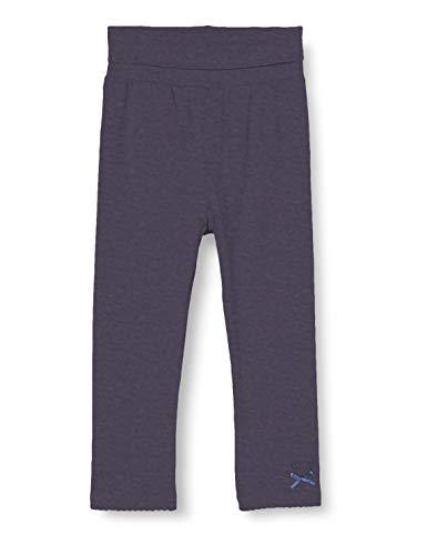 Steiff Baby-Mädchen Leggings, Blau (Black Iris 3032), 68 (Herstellergröße: 068)