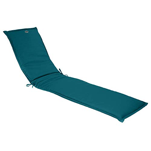 Hespéride - Cojín para tumbona (190 cm), color azul