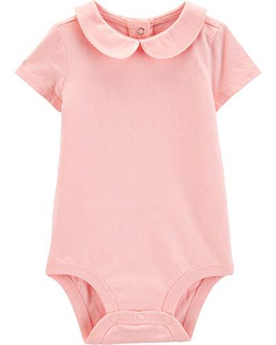 Osh Kosh Baby Girls Bodysuits, Pink Peterpan, 12 Months