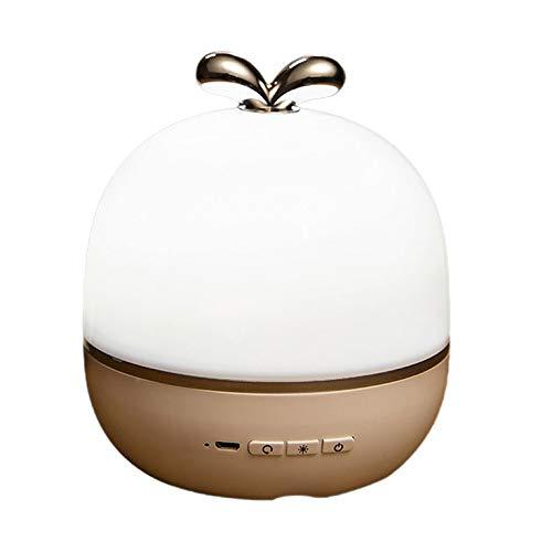 QiKun-Home Lámpara de proyección Creativa de Cielo Estrellado, Estrellas centelleantes para niños, Regalos para bebés, lámpara de Fuente de alimentación USB multifunción, Modelo enchufable Blanco