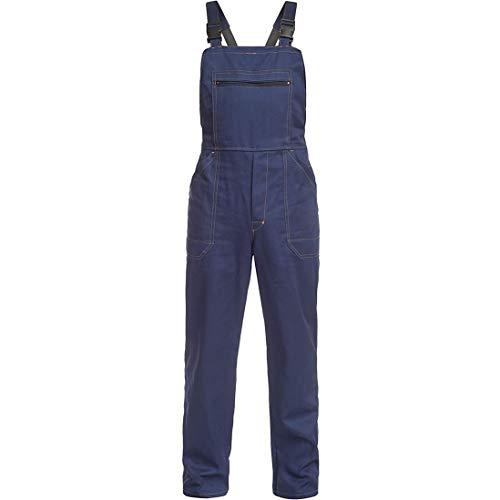 BWOLF Anax - Peto de trabajo para hombre (algodón), color azul lau L