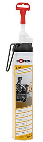 Förch K166 Silikon Motoren- und Gehäusedichtmasse 200ml schwarz, Spezial Silikon hitzefest bis 230 Grad C ( 1 x 200 ml )