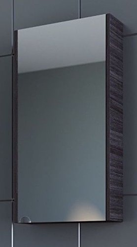 Planetmeubel spiegelkast 40cm gastentoilet (antraciet)