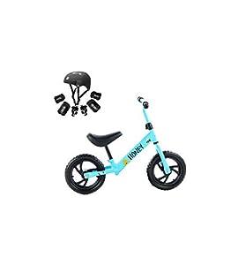 Grupo K-2 Riscko - Bicicleta sin Pedales con sillín Y Manillar Regulables | Ultraligera | Correpasillos Minibike | Bicicleta para Niños de 2 a 5 años Honey | Azul
