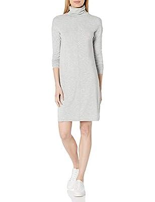 Daily Ritual Women's Long-Sleeve Turtleneck Dress