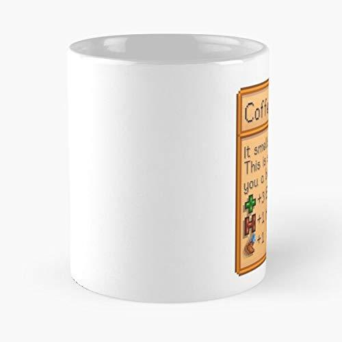 Right Stardew Coffee Handed Valley Best Taza de café de cerámica de 325 ml