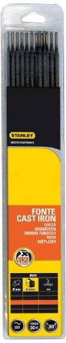 Stanley 460727 - Electrodos de acero para soldadura (12 unidades)