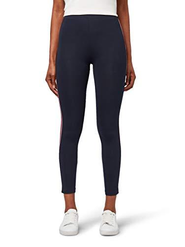 TOM TAILOR Damen Sportliche Leggings, Blau (Sky Captain Blue 10668), W(Herstellergröße: XL)