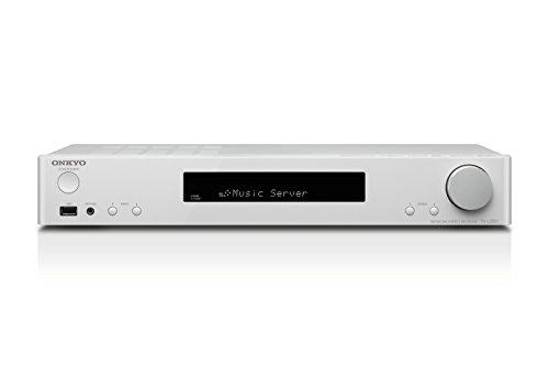 Onkyo TX-L20D(WH) Stereo Receiver (DAB+, Bluetooth, WLAN, Musik Streaming, Spotify u.a., Internetradio, Multiroom, ideal für Ultra HD-Fernseher, 85 W/Kanal, Slimline Design), Weiss