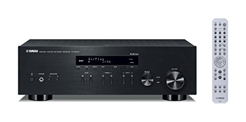 Yamaha RN303D MusicCast Stereo Receiver with Airplay and Bluetooth - Bl