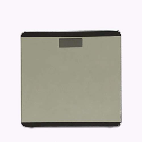 GGPUS Escala de Peso de la Pantalla de Inicio de Pantalla Grande de LCD, retroiluminación, Capacidad de la batería, balanzas electrónicas de Temperatura, Escalas de Salud Creativas