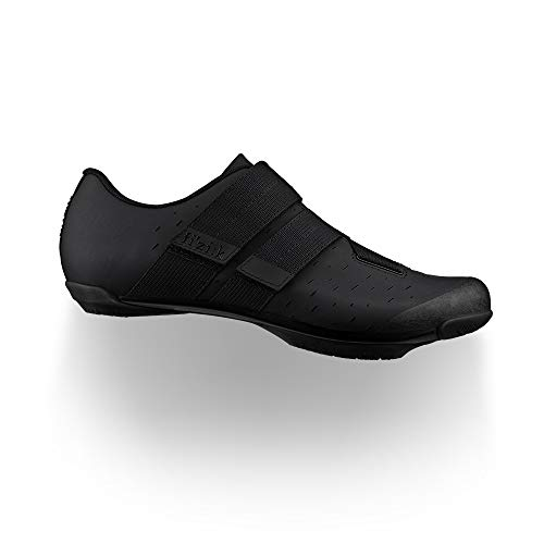 Fizik Terra Powerstrap X4, Zapatillas de Ciclista Unisex Adulto, Negro, 42