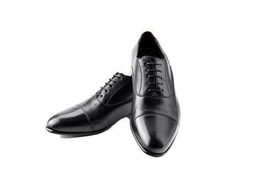 Prime Shoes Flexible Cliff Schnürschuh Schwarz Calf Black aus feinstem Kalbsleder Sacchetto 6