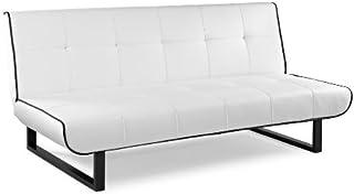 Direct low cost - Sofa cama almazan, color : blanco