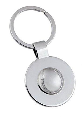 "Ten SCHLÃœSSELANHÃ""NGER M/HALBEM Tennisball cod.EL7734 cm 7,8x3,5x1h by Varotto & Co."