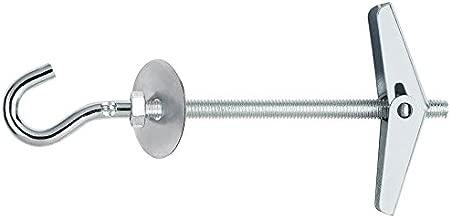 Bulk Hardware BH02269 Clip Espejo Ajustable Conjunto Con Fijaci/ón Paquete De 1
