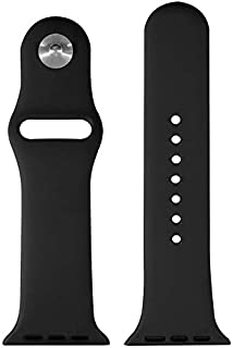 ieLive for Apple Watch Band, Silicone Replacement Iwatch Bands Series 1, Series 2,Series 3 (42mm)