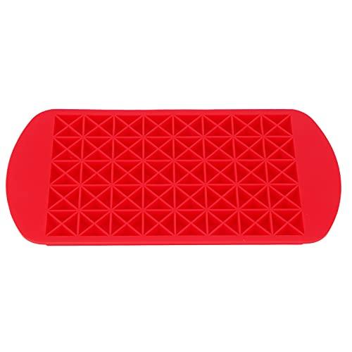 Molde para cubitos de hielo, bandeja para cubitos de hielo, fácil o sin deformación, seguro, reutilizable, rojo para fiestas en la barra de la cocina