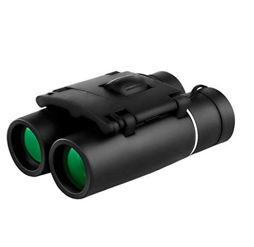 WYJ Mini 20/40/100 X Kompakte Ferngläser Mit Wasserdicht Für Kinder/Erwachsene/Outdoor Vogelbeobachtung/Reisen/Sightseeing/Jagd,Schwarz,Fernrohr