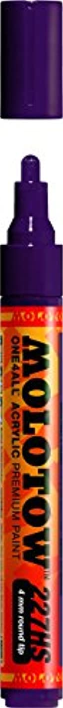 Molotow ONE4ALL Acrylic Paint Marker, 4mm, Purple Violet, 1 Each (227.239)