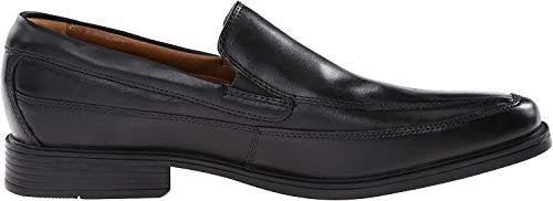 Clarks Clarks Herren Tilden Free, Schwarz Black Leather, 39 EU
