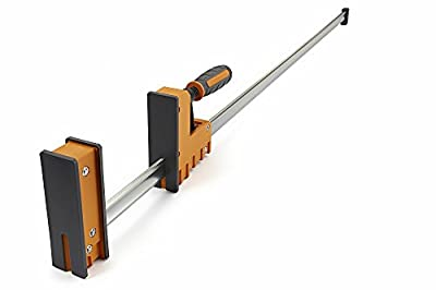 Bora 571112 Parallel Jaw Woodworking Clamp The Precision Clamp That'S Simple To Use, Super Strong, Provides Rock-Solid, Even Pressure from Bora