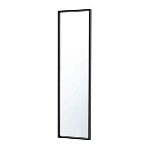 IKEA 303.203.21 Nissedal - Espejo (tamaño 15, 3/4 x 59), color negro