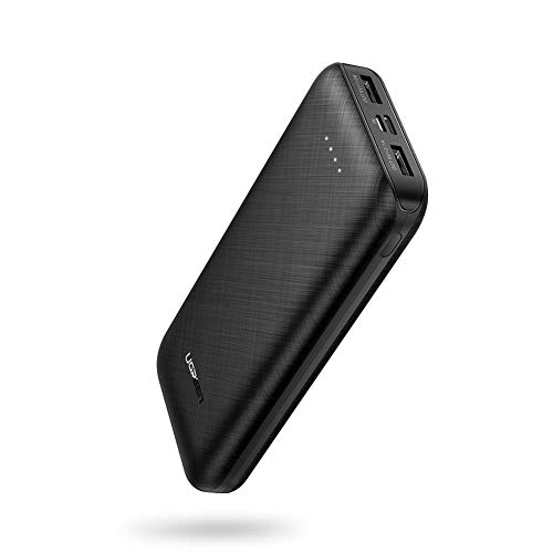 UGREEN Power Bank 20000mAh Externe Akku 2 Ports tragbare USB Powerbank kompatibel mit iPhone 11, 11 pro, X, XS, XR, 8, 7, 6, 5S, S10 S9 S8 M20 A10, A30, A50, Huawei P20 lite,Xiaomi Mi A3 usw.