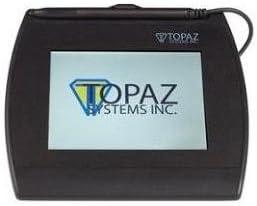 Topaz T-LBK57GC-BHSB-R SignatureGem Color 5.7 Signature Capture Pad