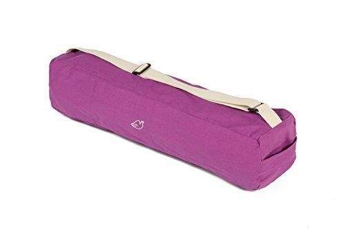 Blue Dove Yoga Cochin Yoga Mat Bag Made from Organic Cotton (Lilac)