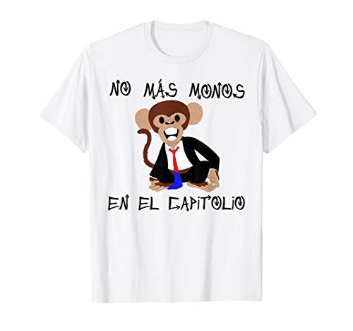 No mas monos en el capitolio t-shirt