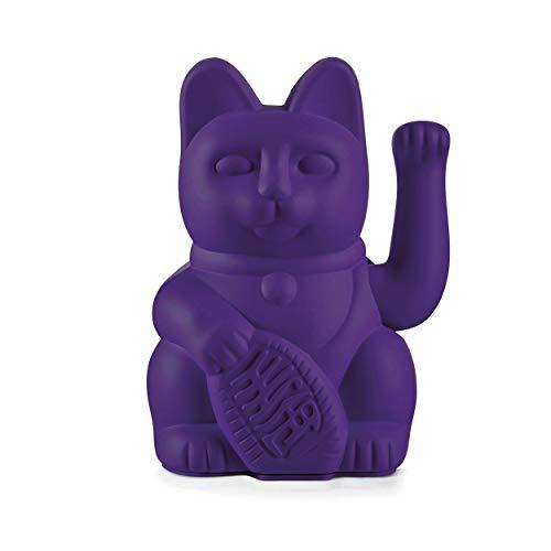 DONKEY Lucky Cat Violet / Gato de la suerte / Morado