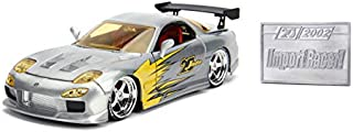 JADA Toys 20TH Anniversary-Import Racer - '93 Mazda RX-7 DIE CAST 1:24 Scale Bare Metal