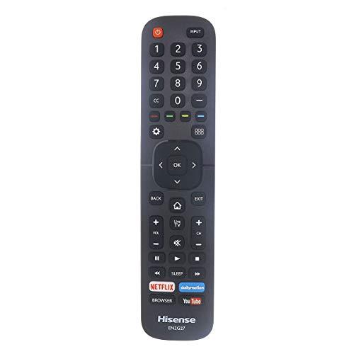 Hisense EN2G27 - Mando a distancia para Smart TV LC40N5000, LC-40N5000, LC43N5000, LC-43N5000, LC43N610, LC43N610, LC43N6100,...