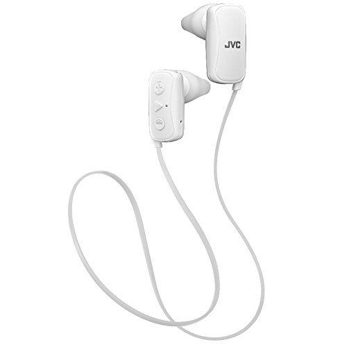 JVC Gumy In-ear hoofdtelefoon, Bluetooth met Nozzle Fit, geniet van Sudore Ipx2, microfoon en afstandsbediening met 3…