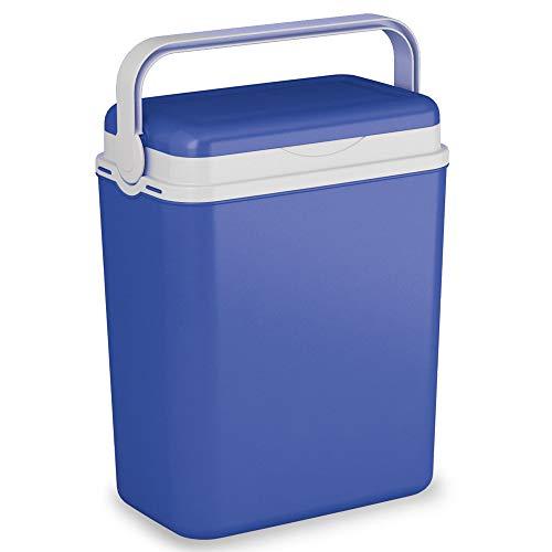 URBNLIVING Urbliving Grande glacière 12 litres pour Camping, Plage, Pique-Nique, Nourriture - 3 Couleurs Disponibles, Bleu