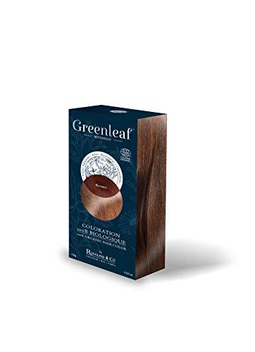Greenleaf Coloration 100% Biologique 100 g - Brown
