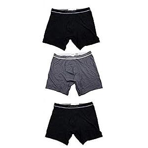 [カルバンクライン] Calvin Klein ボクサーパンツ 3枚セット ブラック×2、グレー×1 (S, Aタイプ) [並行輸入品]