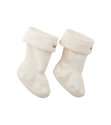 Hatley Calcetines, Blanco (Boot Liners 100), Medium para Niños